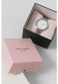 Kate Spade - Zegarek. Kolor: srebrny. Materiał: materiał #3