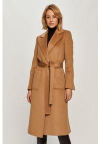 Złoty płaszcz MAX&Co. bez kaptura, na co dzień, casualowy