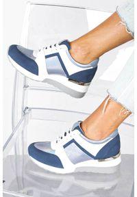Niebieskie buty sportowe Kati