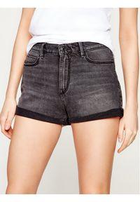 Czarne szorty jeansowe Guess