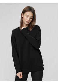 Czarna bluza nierozpinana 4f casualowa, na co dzień