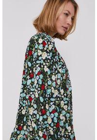 Answear Lab - Sukienka. Materiał: tkanina. Długość rękawa: długi rękaw. Styl: wakacyjny