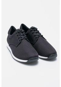 Czarne buty sportowe vagabond na sznurówki, z cholewką