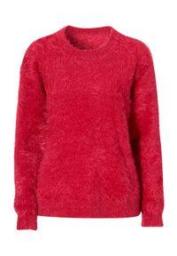 Czerwony sweter Cellbes na co dzień, casualowy