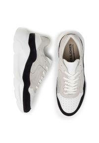 Beżowe sneakersy Jack & Jones