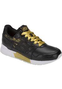 Czarne buty sportowe Asics lifestyle Asics Gel Lyte, z cholewką