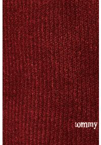 Brązowy sweter Tommy Jeans raglanowy rękaw