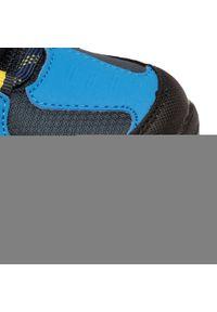 Niebieskie buty zimowe Elbrus z cholewką