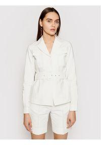 Biała kurtka przejściowa Victoria Victoria Beckham