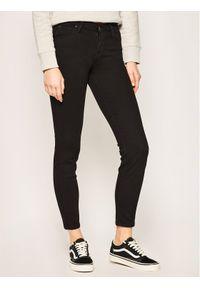 Czarne jeansy slim Lee