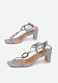 Niebieskie sandały Born2be
