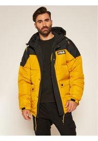 Fila Kurtka zimowa 687906 Żółty Regular Fit. Kolor: żółty. Materiał: puch. Sezon: zima