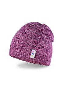 Fioletowa czapka PaMaMi na wiosnę