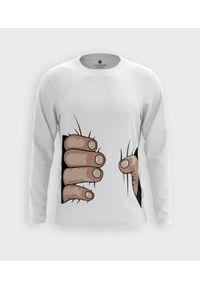 MegaKoszulki - Koszulka męska z dł. rękawem Squeeze. Materiał: bawełna