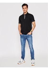 Karl Lagerfeld - KARL LAGERFELD Polo 745017 511221 Czarny Regular Fit. Typ kołnierza: polo. Kolor: czarny