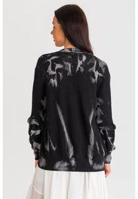 Sweter Pinko w kolorowe wzory