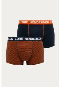 Wielokolorowe majtki Henderson z nadrukiem