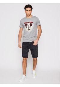 Iceberg T-Shirt 21EI1P0F0166301 Szary Regular Fit. Kolor: szary