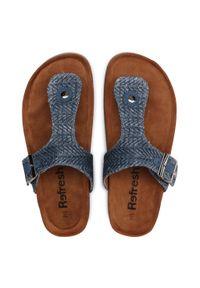 Refresh - Japonki REFRESH - 72937 Jeans. Okazja: na spacer. Kolor: niebieski. Materiał: jeans. Sezon: lato #7