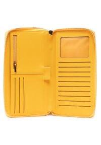 Big-Star - Duży Portfel Damski BIG STAR - HH674001 Yellow. Kolor: żółty. Materiał: skóra