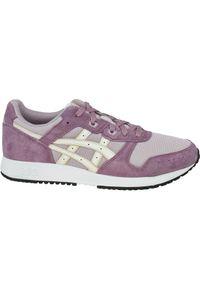 Różowe buty sportowe Asics lifestyle z cholewką