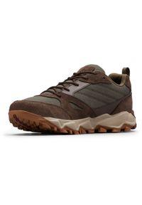 Brązowe buty trekkingowe columbia