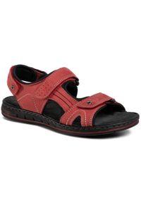 Czerwone sandały Go Soft na lato