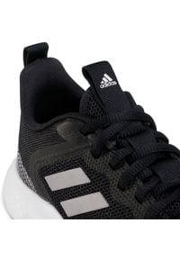 Czarne buty do fitnessu z cholewką, Adidas Cloudfoam