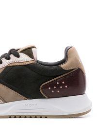 HOFF - Sneakersy Noord. Okazja: na co dzień. Kolor: brązowy. Materiał: jeans. Szerokość cholewki: normalna. Wzór: aplikacja
