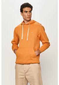Pomarańczowa bluza nierozpinana Billabong na co dzień, z kapturem