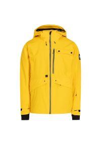 Żółta kurtka narciarska Quiksilver