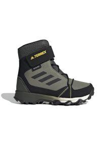 Adidas - ADIDAS TERREX SNOW > FU7276. Zapięcie: rzepy. Materiał: syntetyk, tkanina. Szerokość cholewki: normalna. Technologia: ClimaProof (Adidas). Sezon: zima. Model: Adidas Terrex