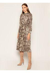 Sukienka koszulowa Marella w kolorowe wzory