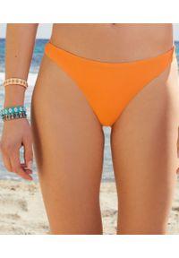 Pomarańczowe dół bikini Etam