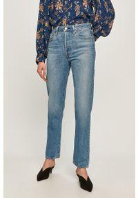 Niebieskie jeansy loose fit Levi's® na spotkanie biznesowe, biznesowe