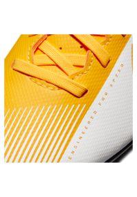 Buty piłkarskie dla dzieci korki Nike Mercurial Vapor 13 Club MG AT8161. Materiał: skóra, syntetyk. Szerokość cholewki: normalna. Sport: piłka nożna