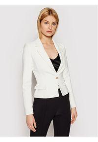 Biały żakiet Elisabetta Franchi