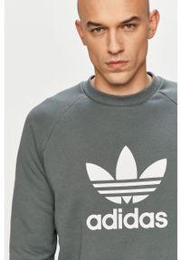 Bluza nierozpinana adidas Originals na co dzień, casualowa, raglanowy rękaw, z nadrukiem