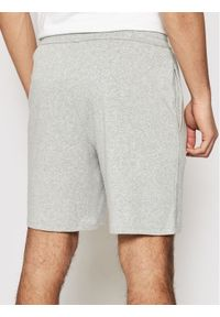 Calvin Klein Underwear Szorty materiałowe 000NM1541E Szary Regular Fit. Kolor: szary. Materiał: materiał