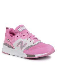 Różowe półbuty New Balance z cholewką