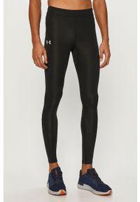 Czarne legginsy sportowe Under Armour gładkie