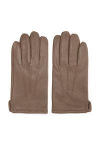 Beżowe rękawiczki Wittchen klasyczne