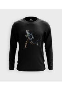 MegaKoszulki - Koszulka męska z dł. rękawem Running. Materiał: bawełna