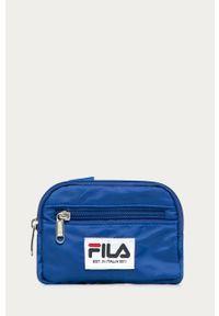 Niebieski portfel Fila