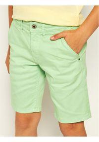 Zielone spodenki jeansowe Pepe Jeans