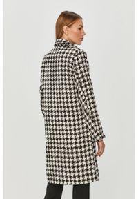 Czarny płaszcz Jacqueline de Yong na co dzień, casualowy