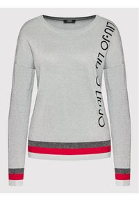 Liu Jo Sport Sweter TF1084 MA57L Szary Regular Fit. Kolor: szary. Styl: sportowy