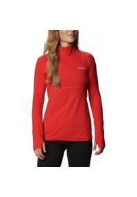 Czerwona bluza sportowa columbia