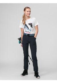 Szare spodnie sportowe 4f