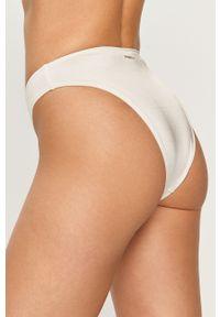 Biały strój kąpielowy dwuczęściowy Pinko gładki